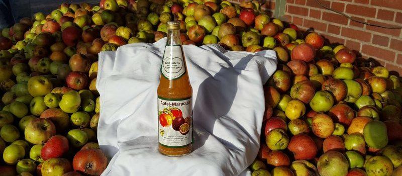 Apfel Maracuja Saft