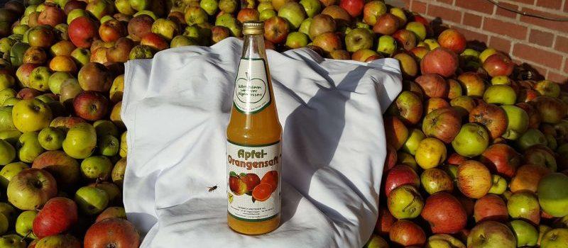 Apfel-Orangensaft